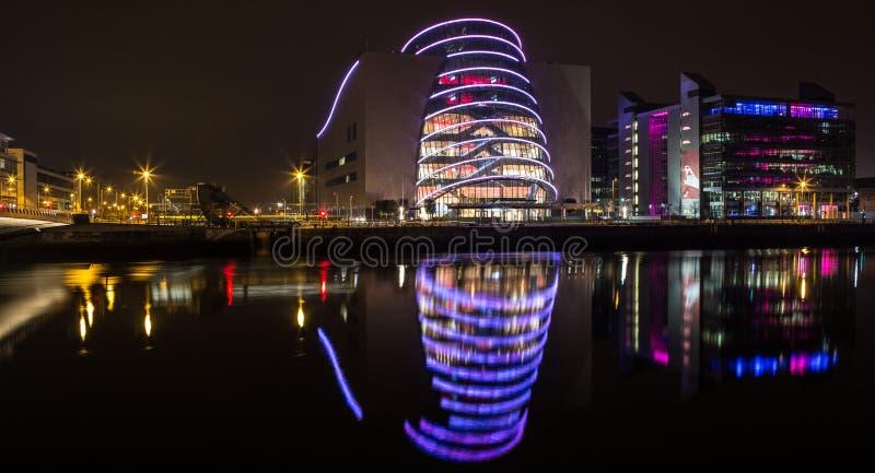 Dublin Convention Center lizenzfreie stockbilder