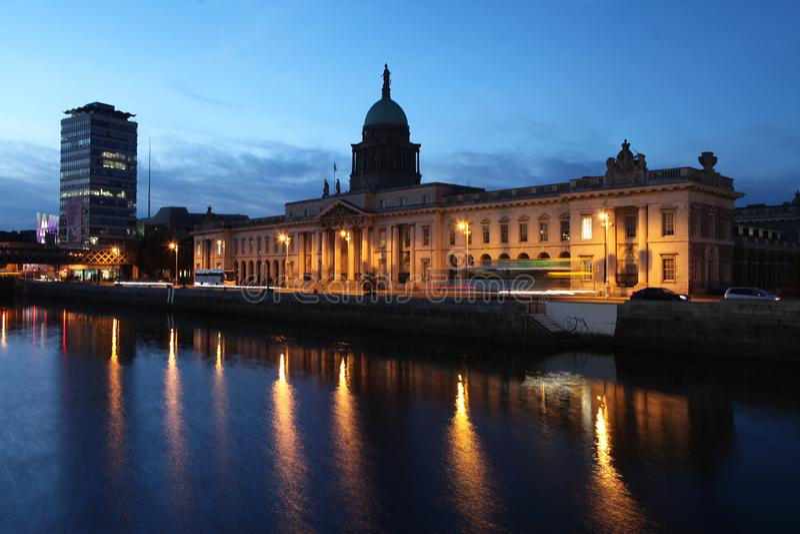 Dublin Custom House photo libre de droits