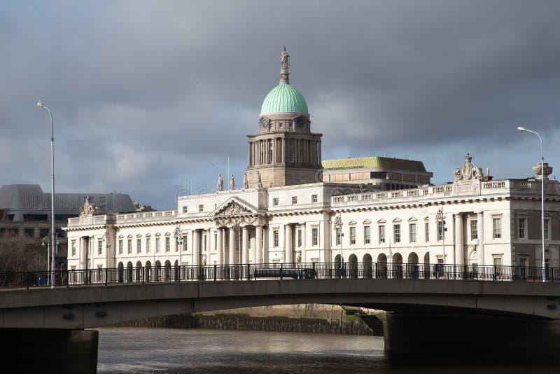 Dublin Custom House images libres de droits