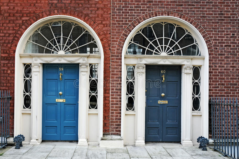 Download Dublin doors stock photo. Image of building, house, glass - 26523254