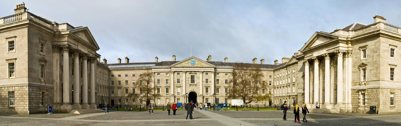 Dublin-Dreiheit-Hochschule stockbild