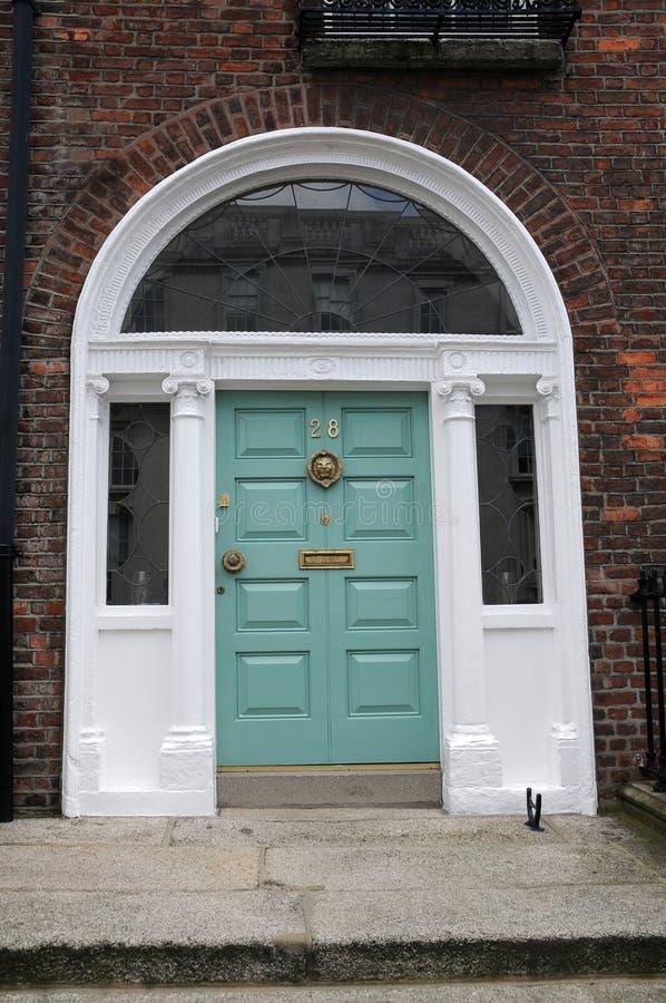 Dublin drzwi zdjęcia stock