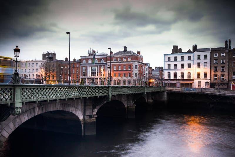 Dublin Grattan most zdjęcia royalty free