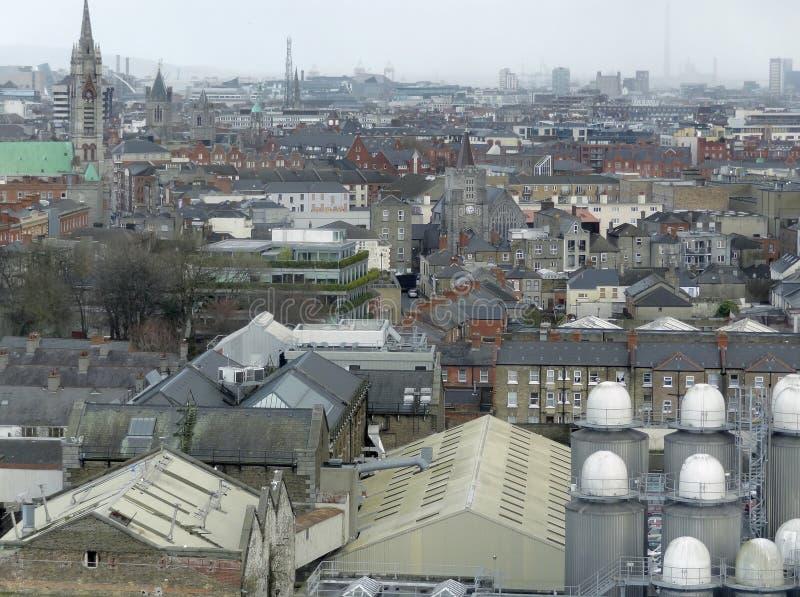 Dublin in Ierland stock fotografie