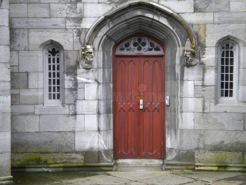Dublin Ireland - Dublin Castle Doors imagen de archivo libre de regalías