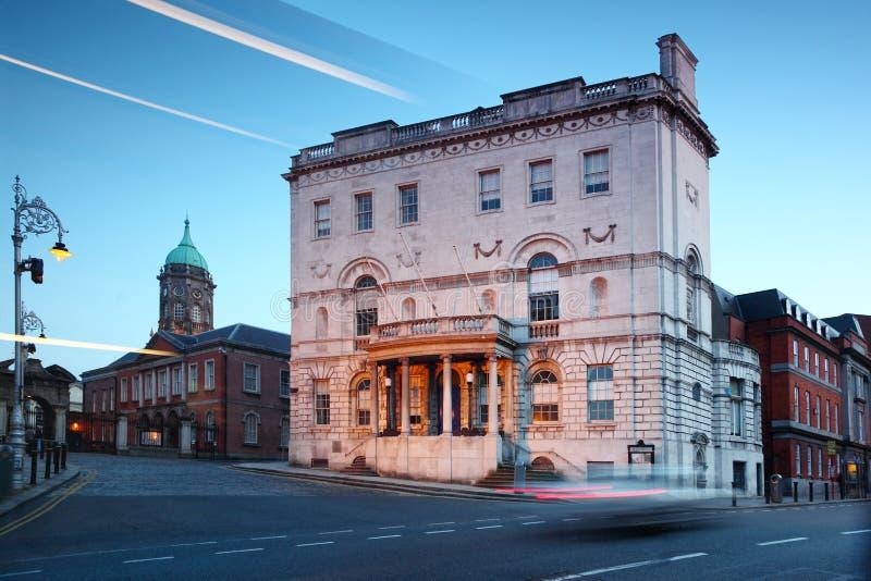 dublin ireland kontorshastigheter fotografering för bildbyråer