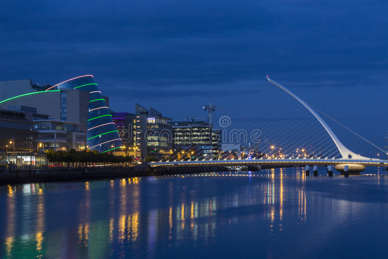 Samuel Beckett Bridge - Dublin - Ireland royalty free stock images