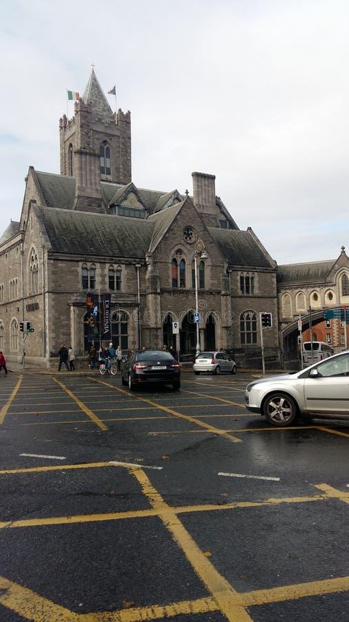 Dublin Irland, centralt område, mer av de fantastiska byggnaderna royaltyfri fotografi