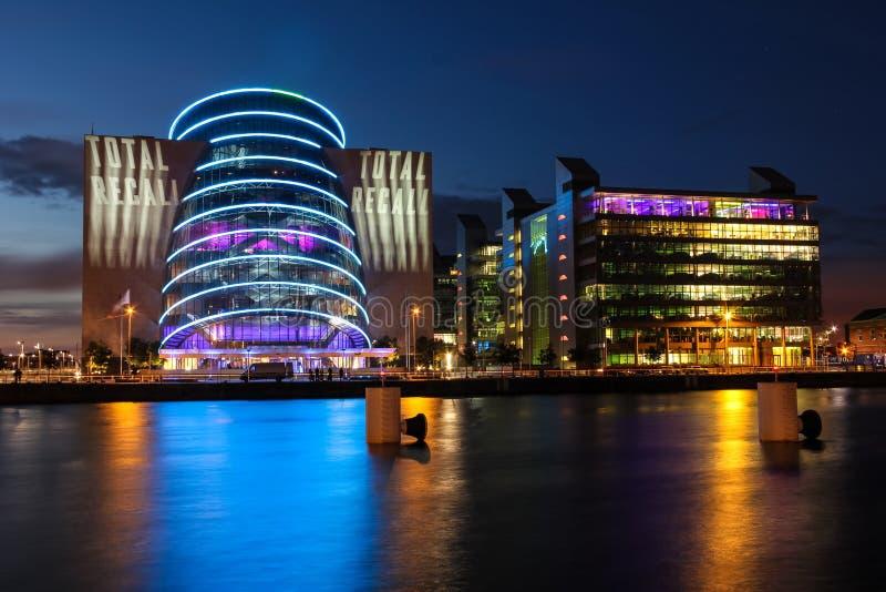 Dublin Konwenci Centre zdjęcia stock