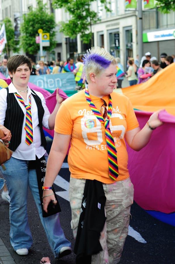 Dublin LGBTQ Pride Festival 2010 stock photos