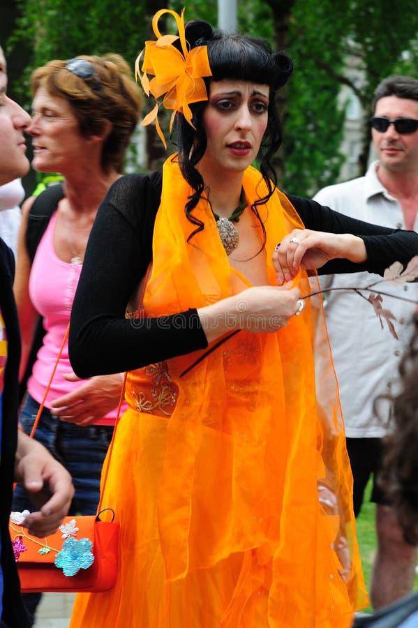 Dublin LGBTQ Pride Festival 2010 royalty free stock photos