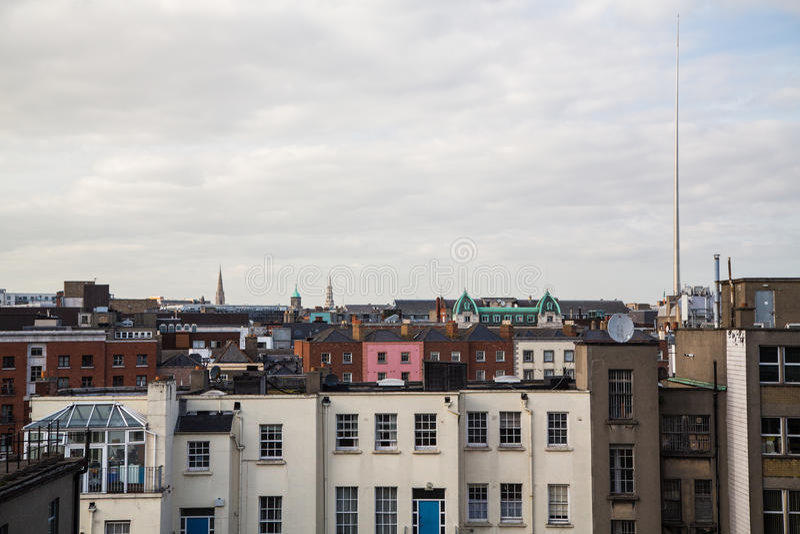 Dublin linia horyzontu obraz stock