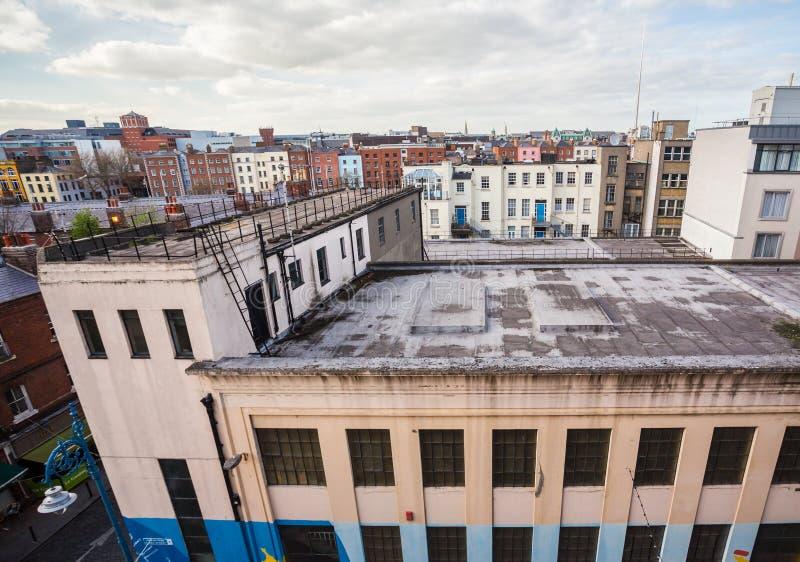 Dublin linia horyzontu obraz royalty free