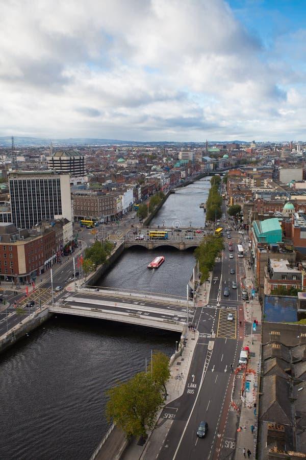 Dublin linia horyzontu zdjęcie stock