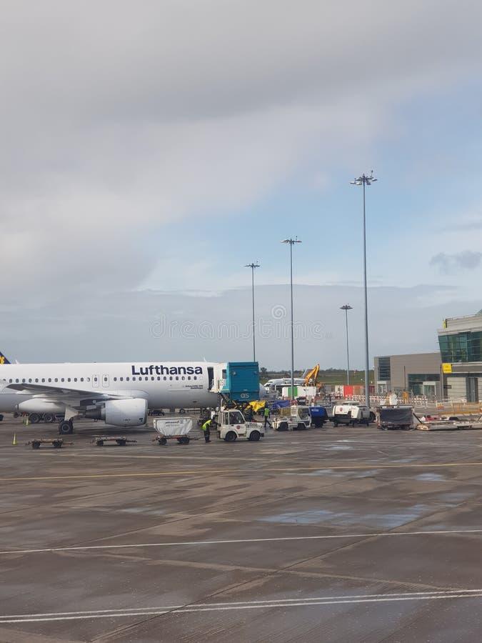Dublin lotnisko zdjęcia stock