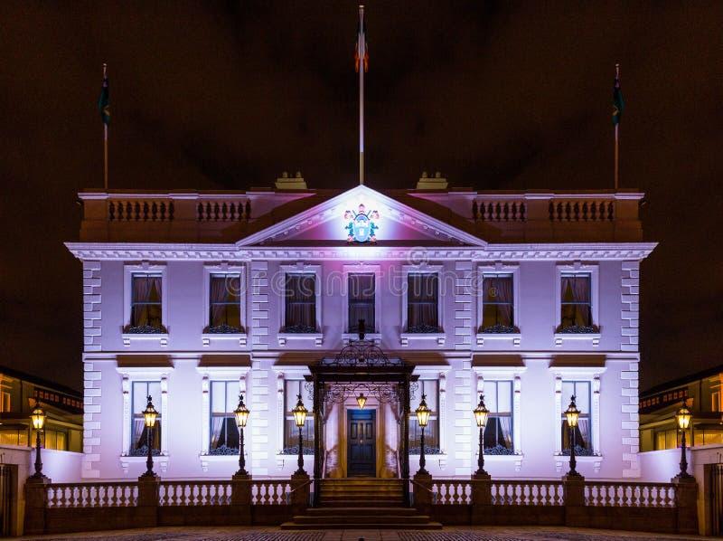 Dublin Mansion House arkivbild