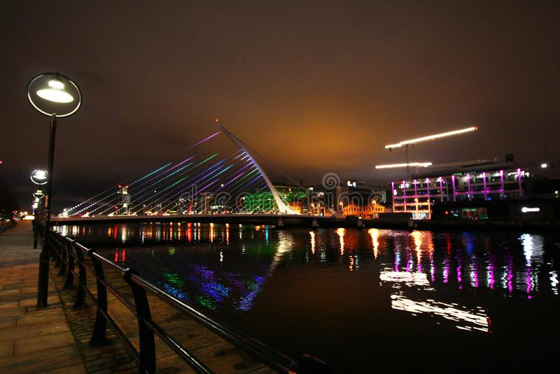 dublin night στοκ εικόνες με δικαίωμα ελεύθερης χρήσης