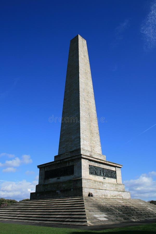 dublin pomnik zdjęcie royalty free