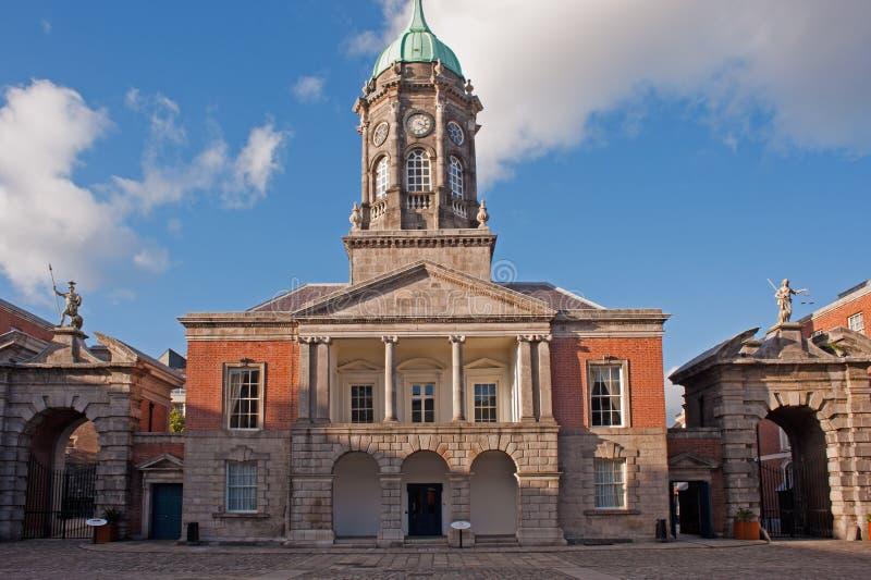 Dublin slott royaltyfri bild