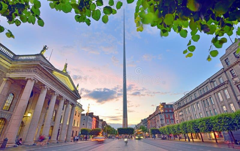 Dublin Spire stock photos