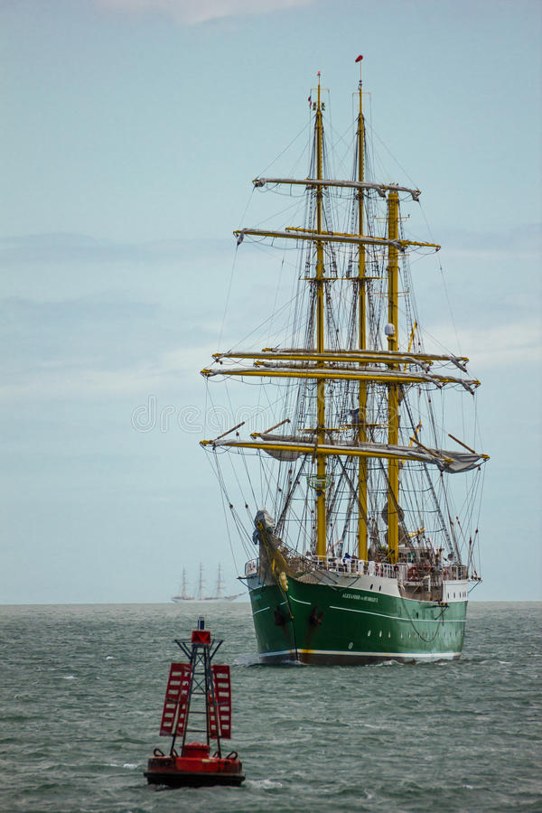 Dublin Tall Ship Races 2012 Editorial Image