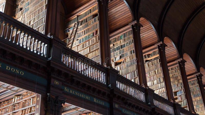 Dublin Trinity College royaltyfria foton