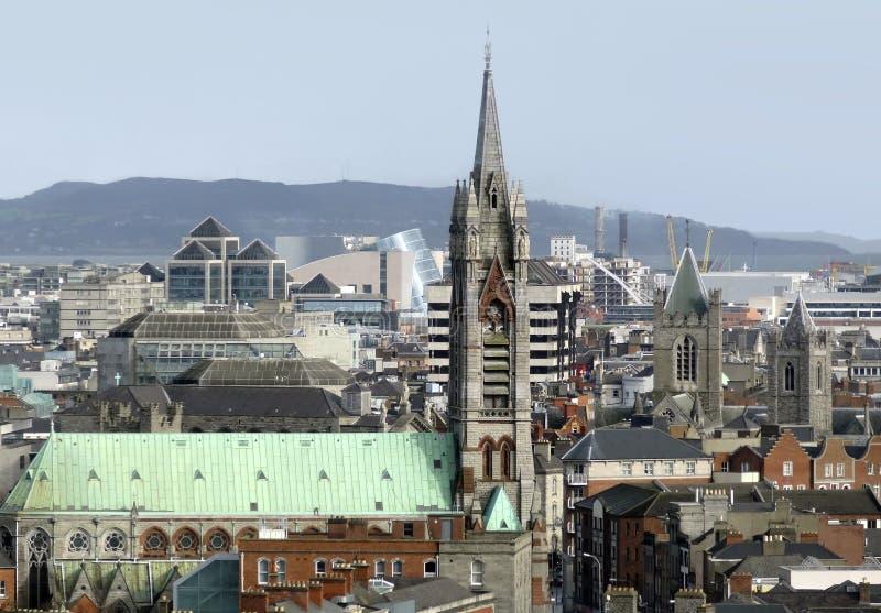 Dublino in Irlanda fotografie stock libere da diritti