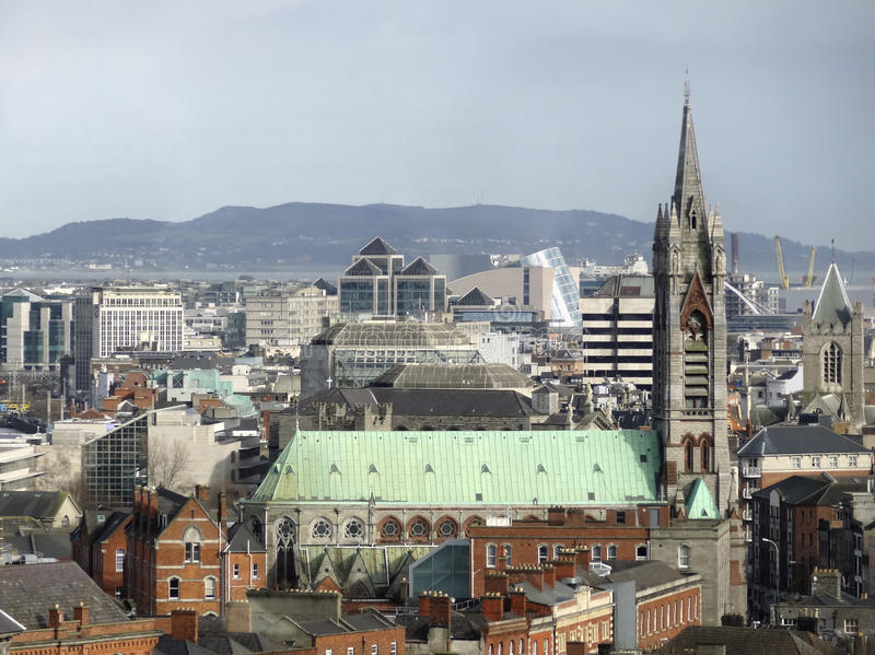 Dublino in Irlanda fotografia stock libera da diritti
