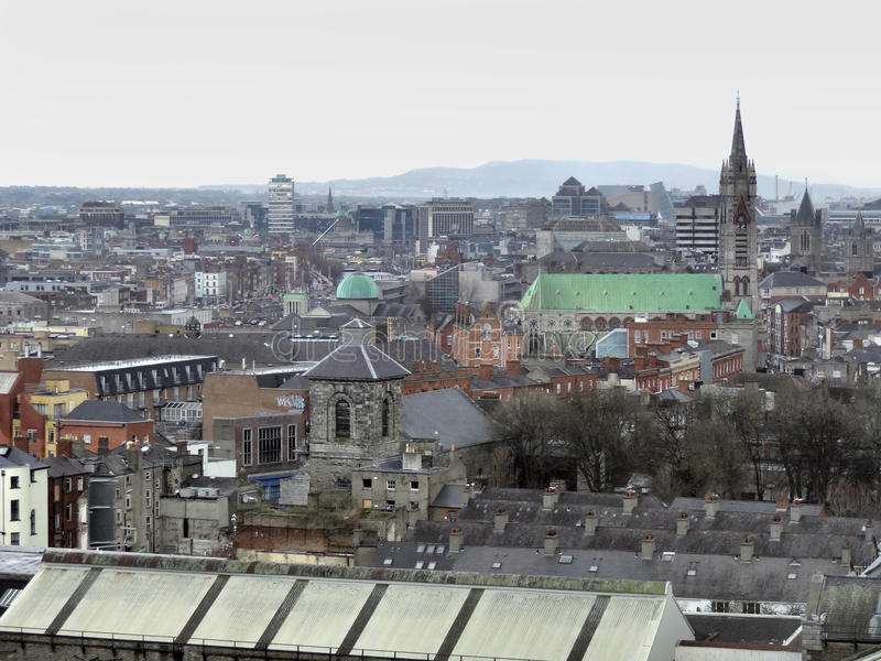 Dublino in Irlanda immagine stock