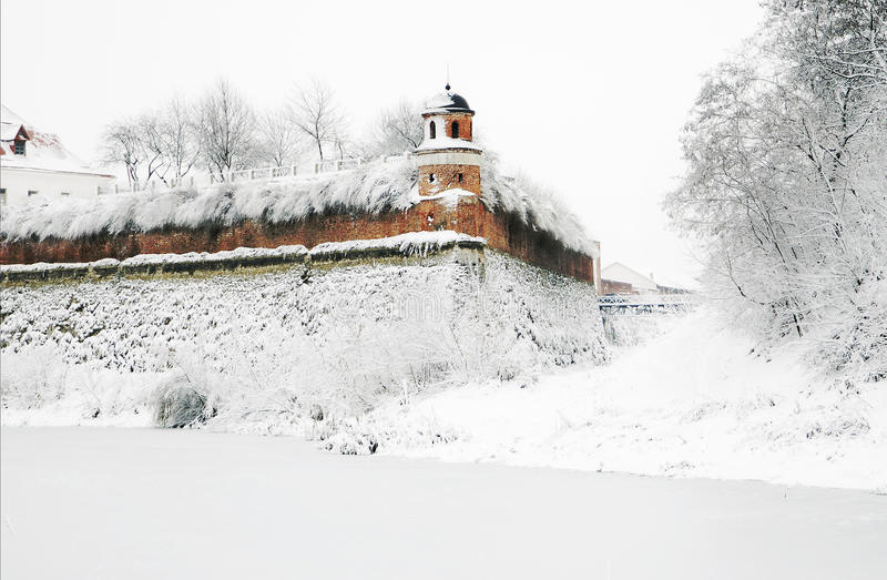 dubno堡垒乌克兰 库存图片
