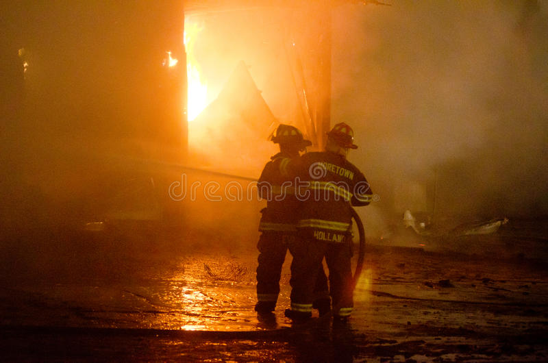 DuBois Construction Fire 01-07-2012