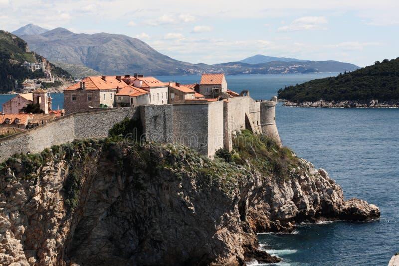 Download Dubrovnic Fort stock image. Image of city, dalmatia, multi - 24841169