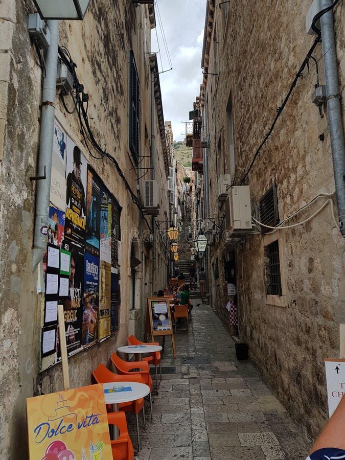 dubrovnik οδός στοκ εικόνες με δικαίωμα ελεύθερης χρήσης