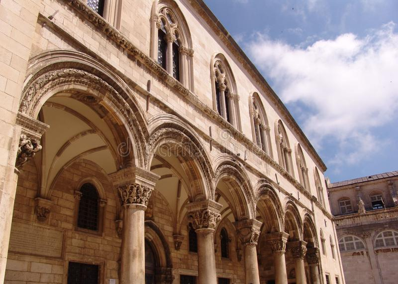 Dubrovnik łuk zdjęcia stock