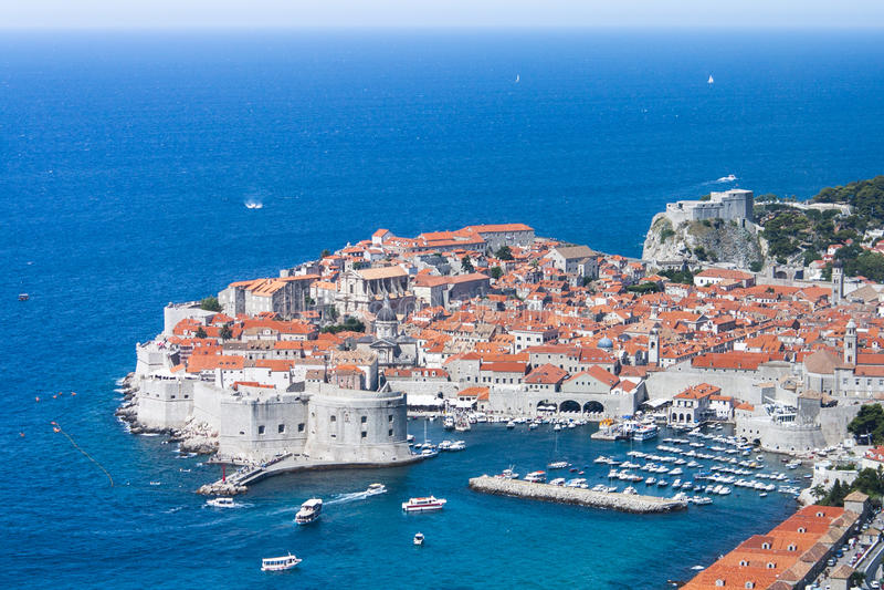 Dubrovnik, Κροατία στοκ φωτογραφία με δικαίωμα ελεύθερης χρήσης