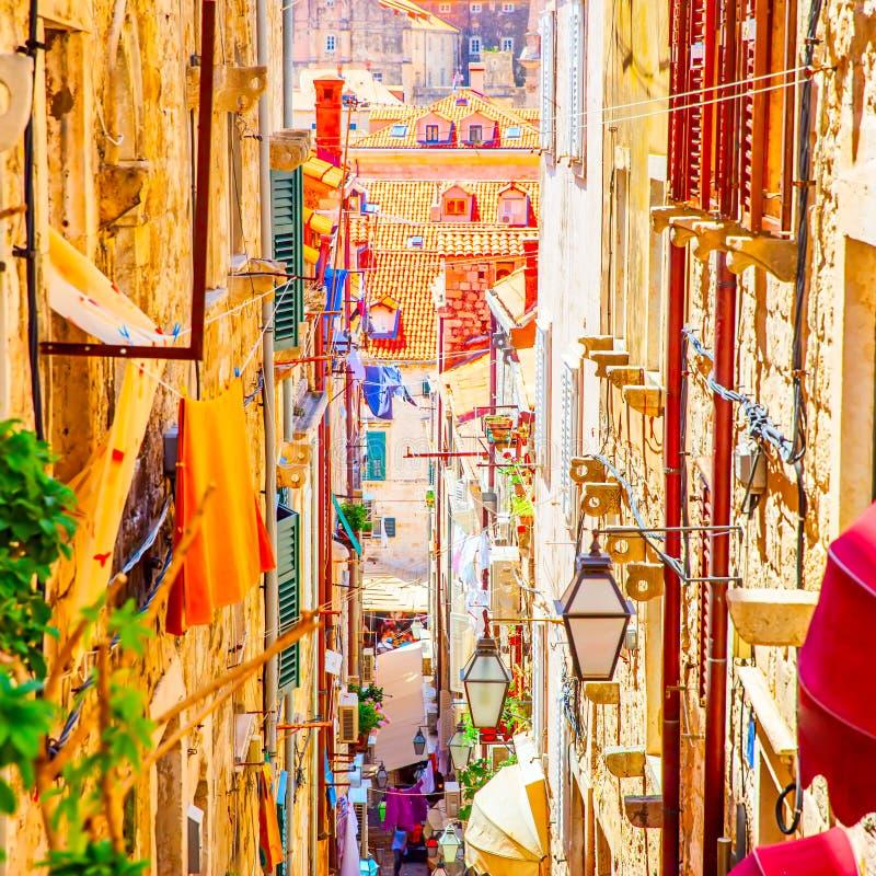 dubrovnik παλαιά πόλη στοκ εικόνα