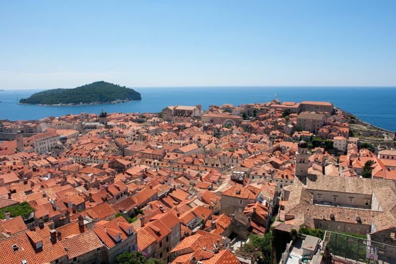 Download Dubrovnik στοκ εικόνα. εικόνα από όψη, πορτοκάλι, χερσόνησος - 105450469
