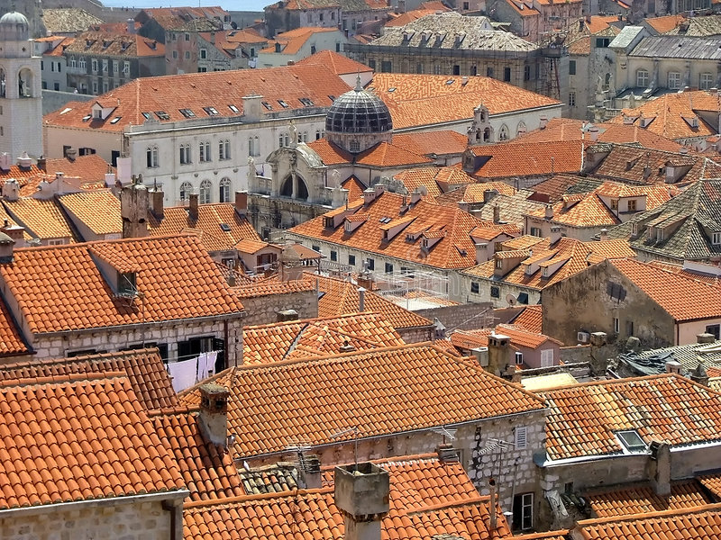 Download Dubrovnik stock photo. Image of walled, balkans, cityscape - 198444