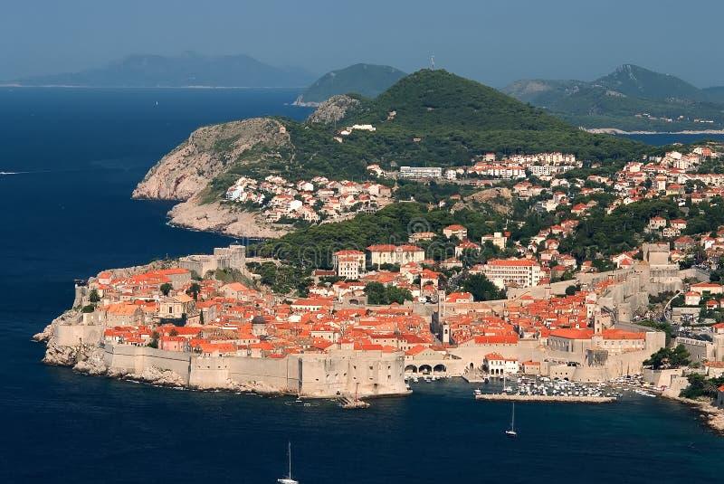 Dubrovnik stockbild