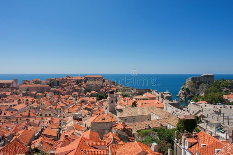 Download Dubrovnik image stock. Image du croatia, above, toit - 87702737