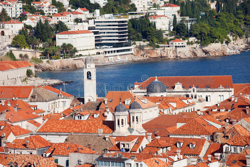 Dubrovnik-alte Stadt stockfoto