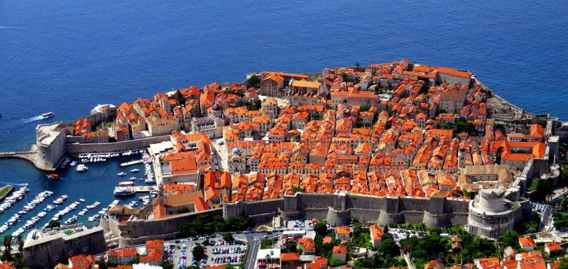 Dubrovnik-alte Stadt lizenzfreie stockfotos