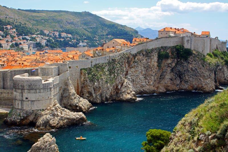 Dubrovnik-alte Stadt, Kroatien lizenzfreies stockfoto