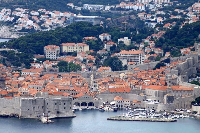 Dubrovnik-alte Stadt, Kroatien stockbilder
