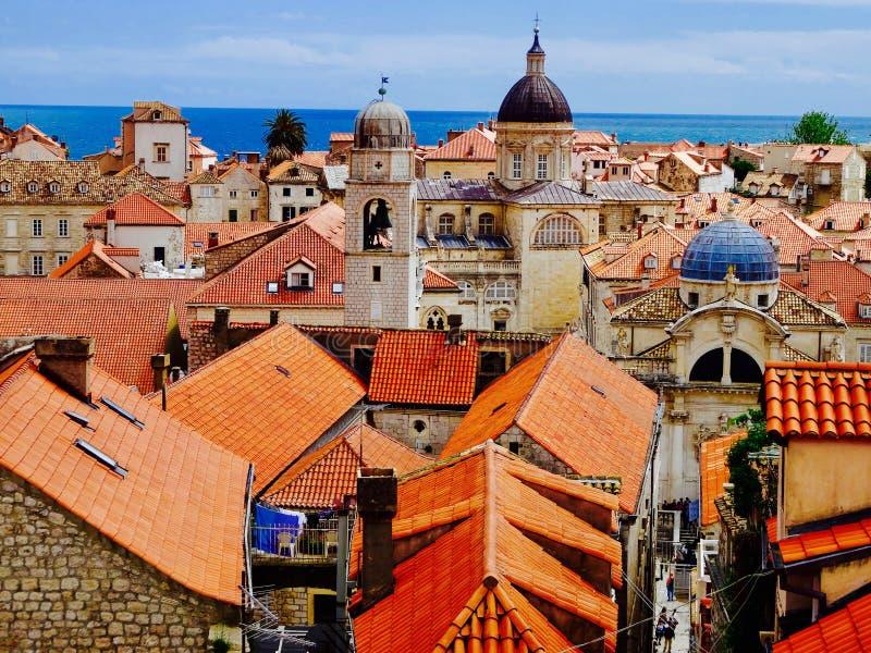 Dubrovnik antiguo fotos de archivo libres de regalías