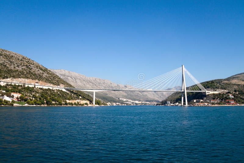 Dubrovnik Bridge Royalty Free Stock Photo