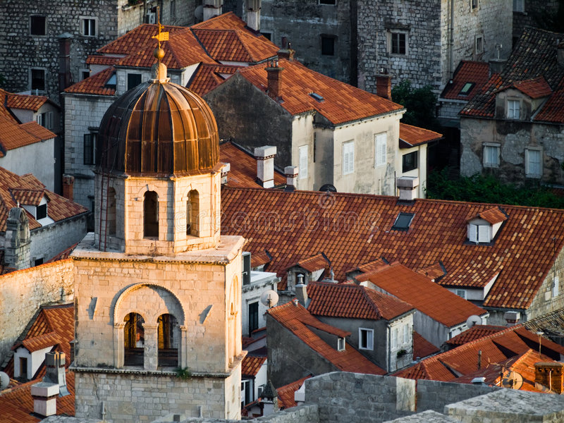 Download Dubrovnik city walls stock photo. Image of town, adriatic - 5975738