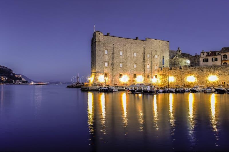 Dubrovnik city walls, Croatia stock image