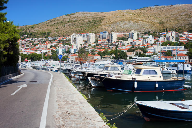 Download Dubrovnik Cityscape And Harbor Stock Image - Image: 20051421