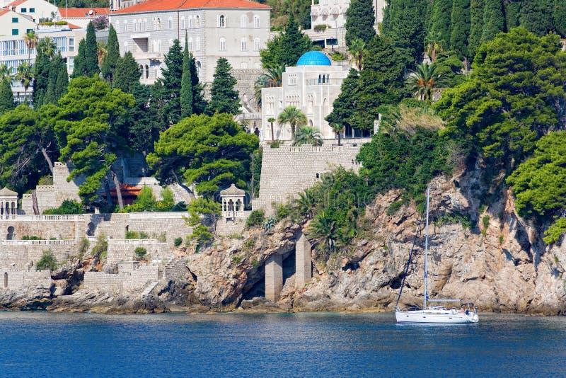 Download Dubrovnik coast stock image. Image of mediterranean, blue - 26305157